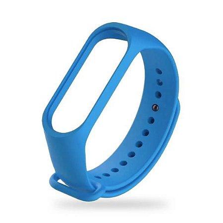 Pulseira MI Band 3/4 Silicone Azul