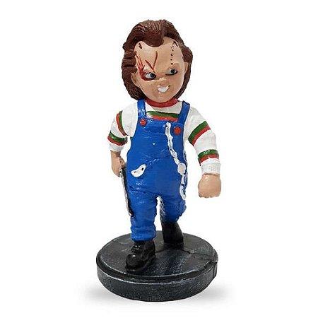 Chucky Brinquedo Assassino Estatueta em Resina
