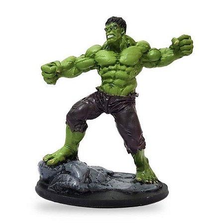 Hulk Marvel Estatueta em Resina