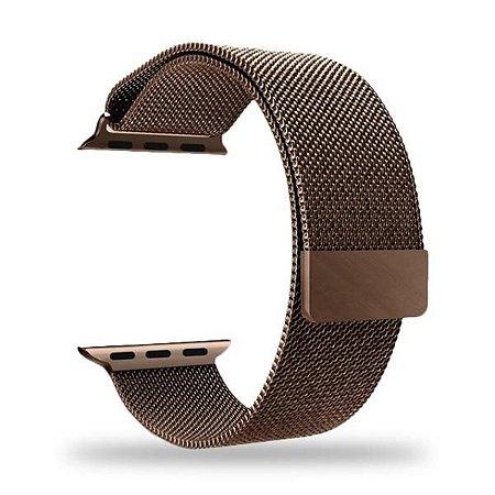 Pulseira Apple Watch 42mm Metal Bronze