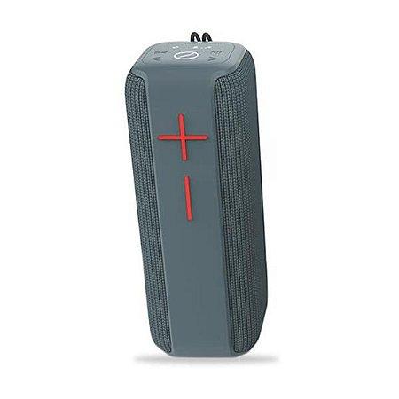 Caixa de Som Bluetooth 10W Kimaster K450 Cinza Azulado