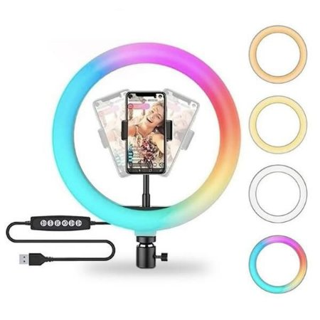 Iluminador de LED Soft Ring Light MJ26