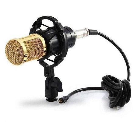 Microfone Condensador Profissional B-Max BM-800