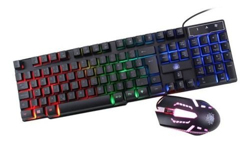 Combo Teclado e Mouse Gamer START  KG-02N 015-0052