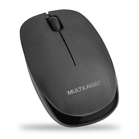 Mouse Sem Fio Multilaser MO251