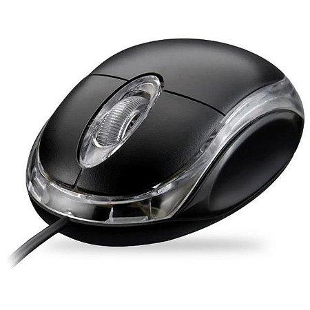 Mouse USB Com Fio Exbom MS-10