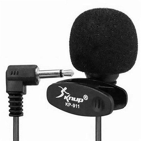 Mini Microfone De Lapela Knup KP-911