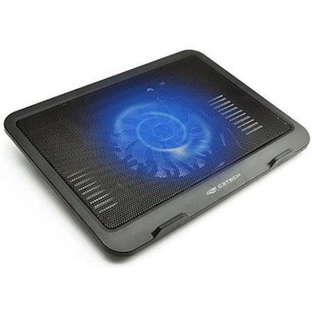 Suporte Para Notebook Até 14'' Cooler Fan LED USB C3Tech NBC-11BK