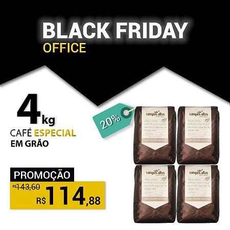 BLACK FRIDAY - Café Especial Campos Altos em Grãos - 1 KG - 4 Pacotes