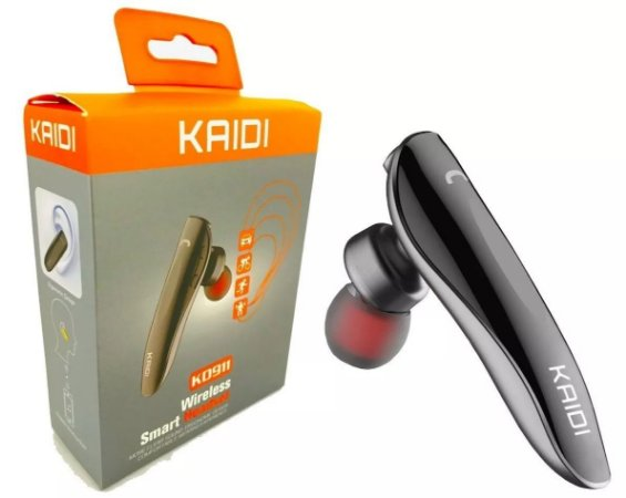 Fone Bluetooth 4.1 Smart Headset Wireless Kaidi Kd911