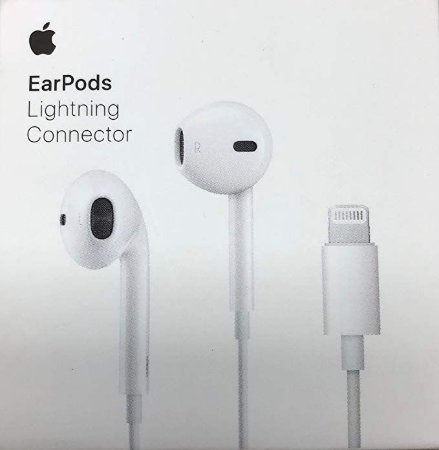 Apple EarPods with Lightning Connector, MMTN2ZM/A, White