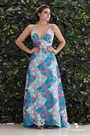 Vestido de Alcinha Longo - Farthingale
