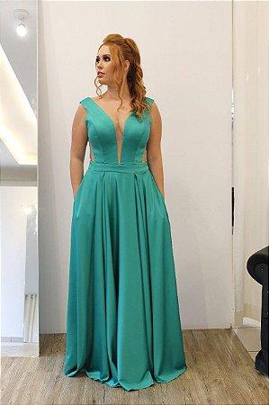 Vestido Ponta de Ombro Versalles - Farthingale