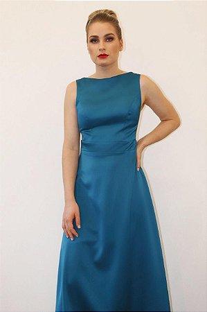 Vestido com Pala Bonequinha de Luxo - Farthingale