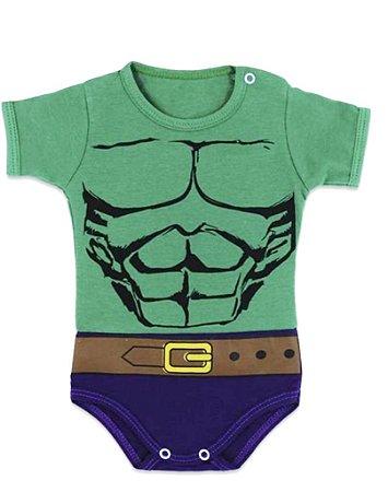 Body Temático  Herói  Hulk corpo