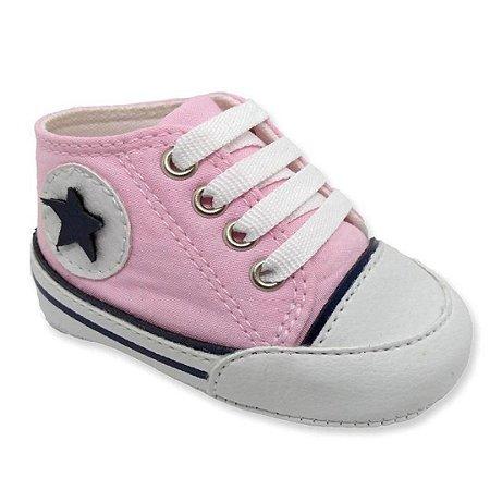 Tênis bebê Star Rosa