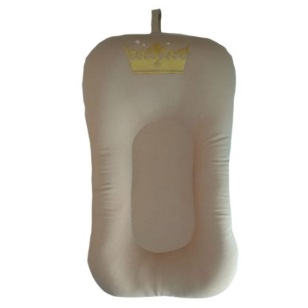 Almofada de Banho e Ninho - COROA Bege nude