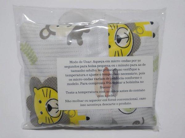 Bolsinha Térmica de Sementes - Safári - SEU BEBÊ SEM CÓLICA