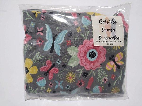Bolsinha Térmica de Sementes - Flores - SEU BEBÊ SEM CÓLICA