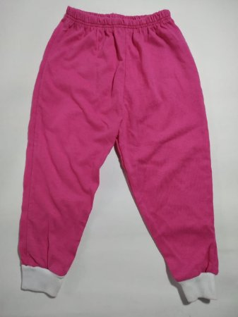 Mijão (Culote) Bebê Malha Liso sem Pé - pink