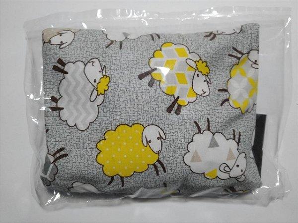 Bolsinha Térmica de Sementes - Ovelha amarela - SEU BEBÊ SEM CÓLICA