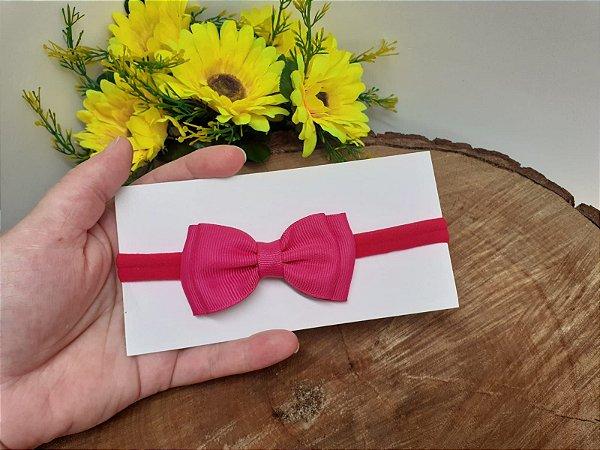 Laço Gravatinha Duplo Pink