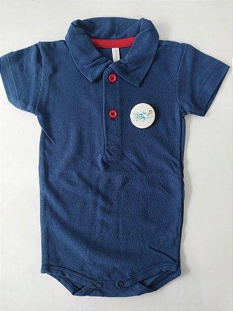 Body Polo Azul