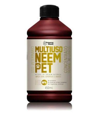 Multiuso Concentrado Neem Pet 450ml - Preserva Mundi