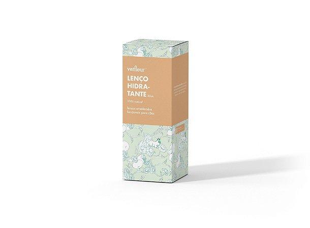 Lenço Umedecido Hidratante 20un - Vetfleur