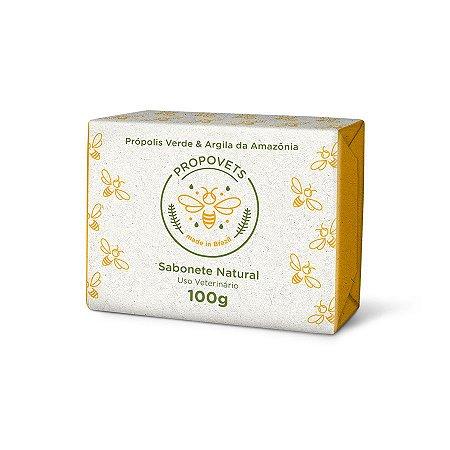 Sabonete em Barra Natural para Cães e Gatos 100g -Propovets