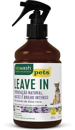 Leave In Lavanda para Cães e Gatos 250ml – Biowash