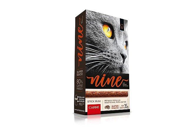 Petisco para Gatos Stick NINE Carne 35g - Spin Pet