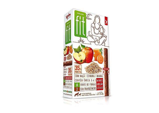 Petisco Stick FIT Maçã Cenoura e Quinoa 50g - Spin Pet