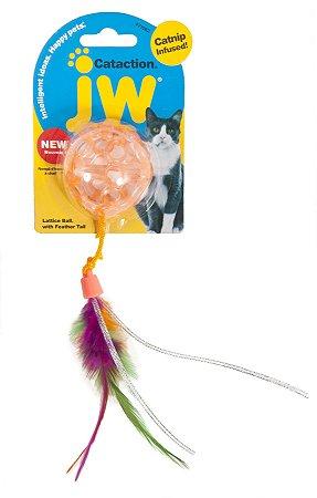 Brinquedo para Gatos Lattice Ball Laranja - JW