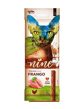 Petisco para Gatos Stick NINE Frango 20g - Spin Pet
