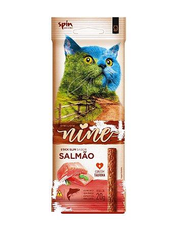 Petisco para Gatos Stick NINE Salmão 20g - Spin Pet