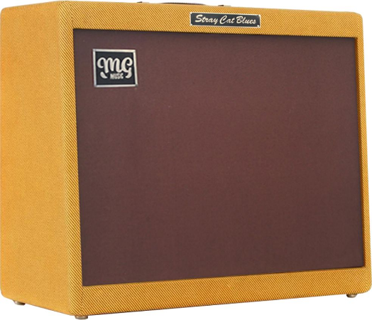 Amplificador MG STRAY CAT BLUES  - Combo 80w  2x12 - Falante Celestion Alnico Gold