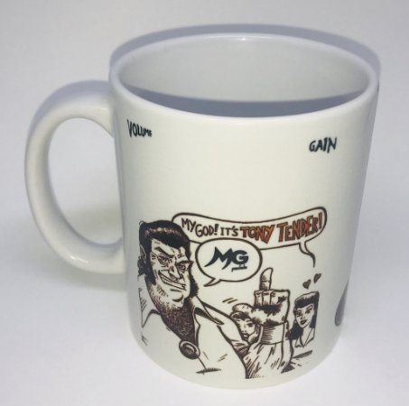Caneca MG Music TONY TENDER