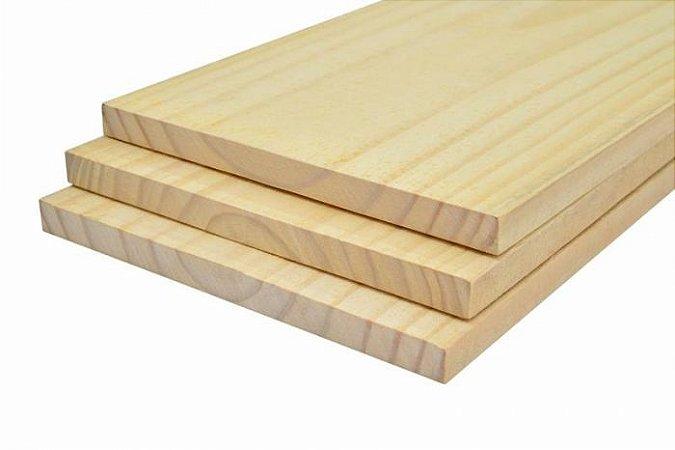 Tábua Aparelhada de Pinus Seco 02x29x3,00