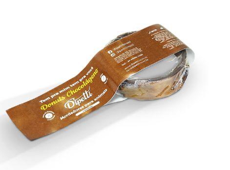 Mordedor Donuts Chocolágeno - Colágeno de Bovino Dipetti
