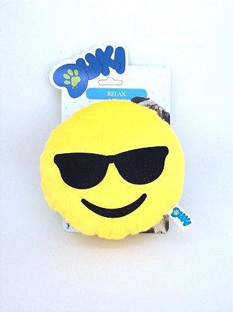 Pelúcia Emoji Óculos Escuros para cães