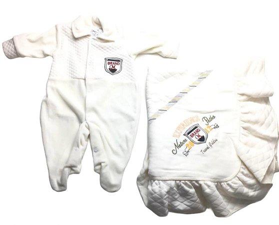 Saída de Maternidade de Plush Mo - 2 Peças