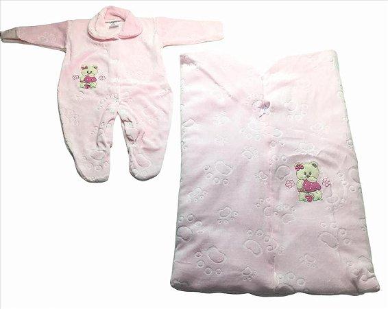 Saída de Maternidade Plush 2 Pecas
