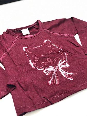 Camiseta Manga Longa Feminina Bordada 4/10