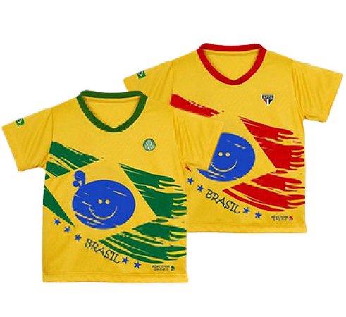 Camiseta Brasil Unissex de Time Oficial 1/3