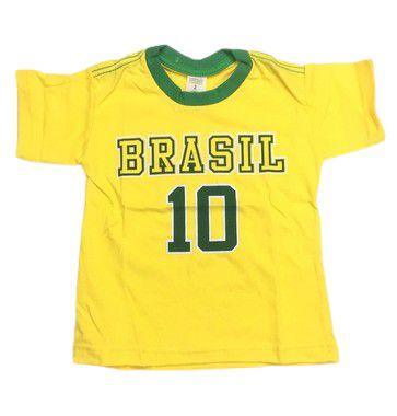 Camiseta do Brasil 10 Tam 2/16