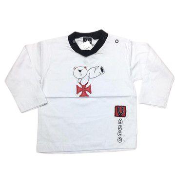 Camiseta Manga Longa do Vasco Unissex - P/GG