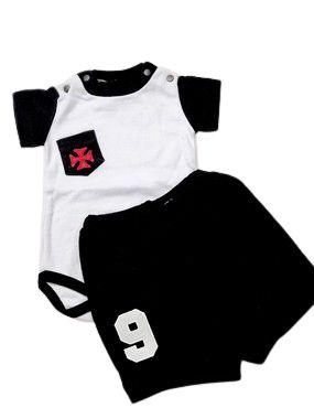 Conjunto Body e Shorts do Vasco Masculino - P ao GG