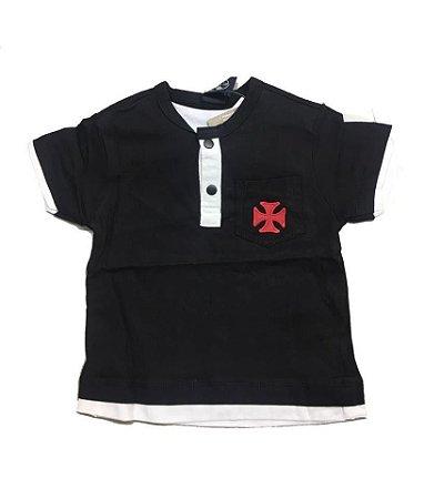 Camiseta do Vasco Unissex - P ao GG