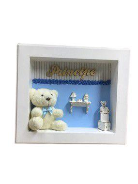 Porta Maternidade Príncipe Azul